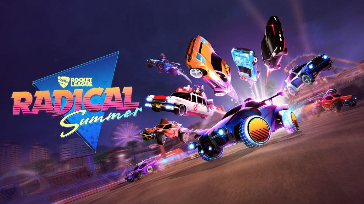 Rocket League Radical Summer
