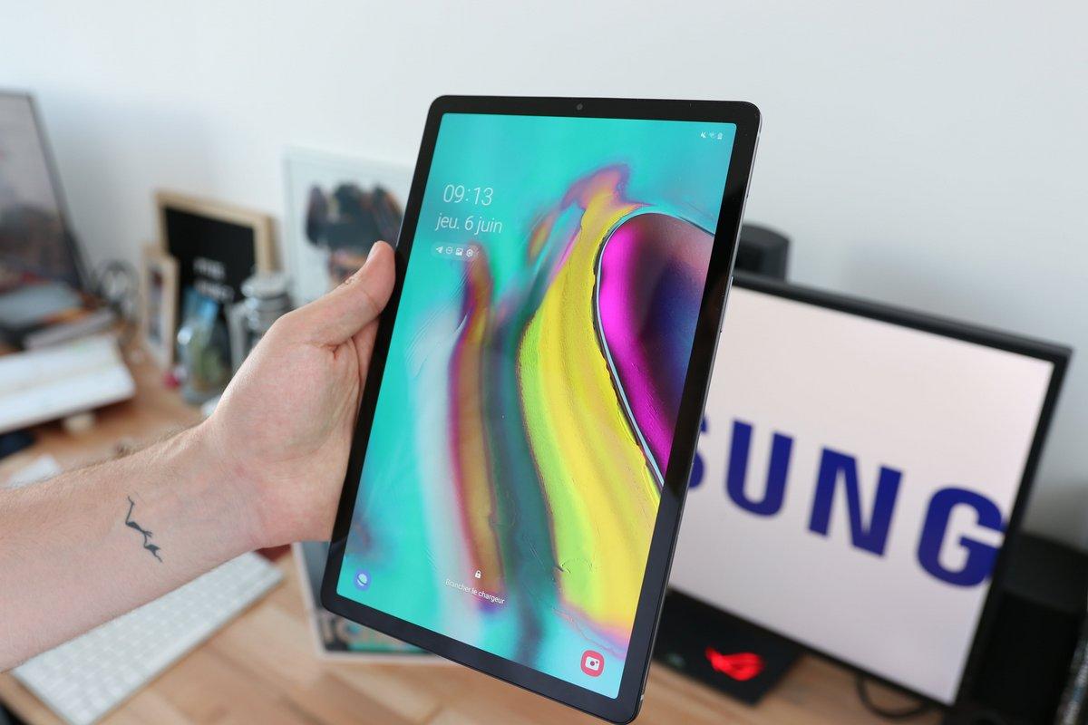 Samsung Galaxy Tab S5e test