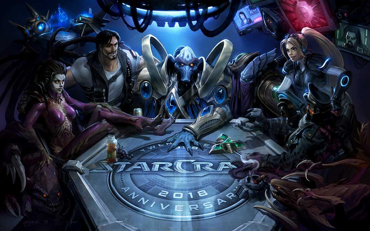 Blizzard Annule Son Fps Starcraft Pour Se Focaliser Sur