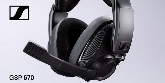 Sennheiser lance le GSP 670, son premier casque gamer sans fil