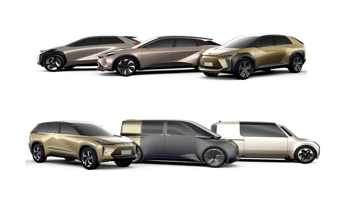 Toyota voitures électriques