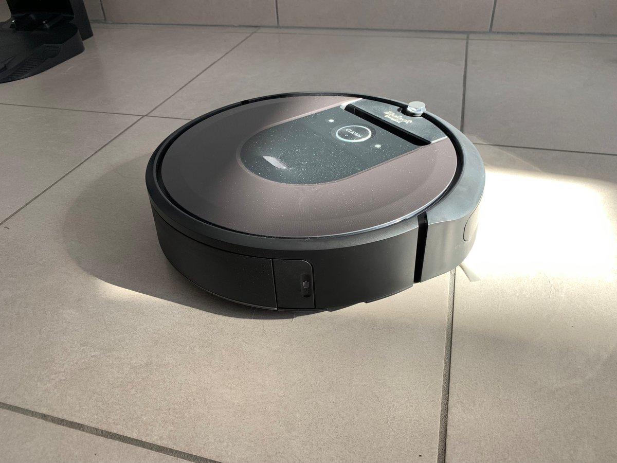 Test Roomba i7+