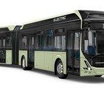 Volvo présente son bus articulé tout-électrique pouvant accueillir jusqu'à 150 passagers