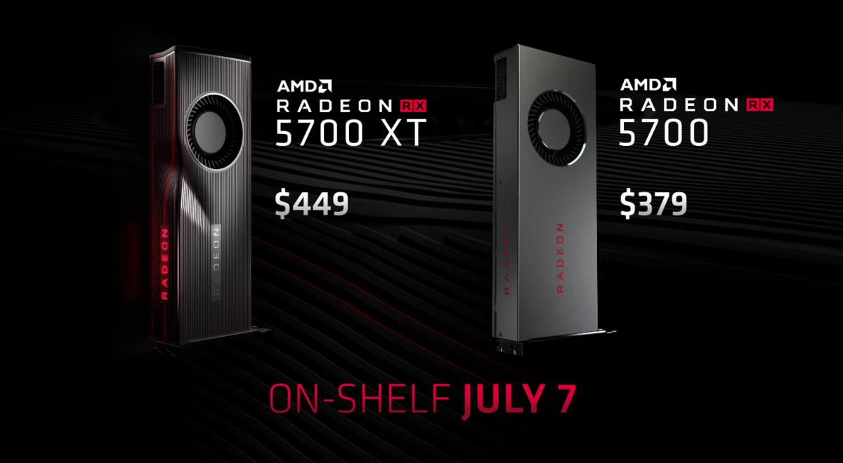 AMD Radeon 5700 et 5700 XT