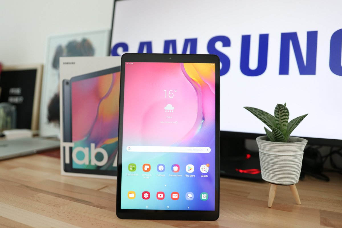 Samsung Galaxy Tab A 2019 Test © Pierre Crochart pour Clubic