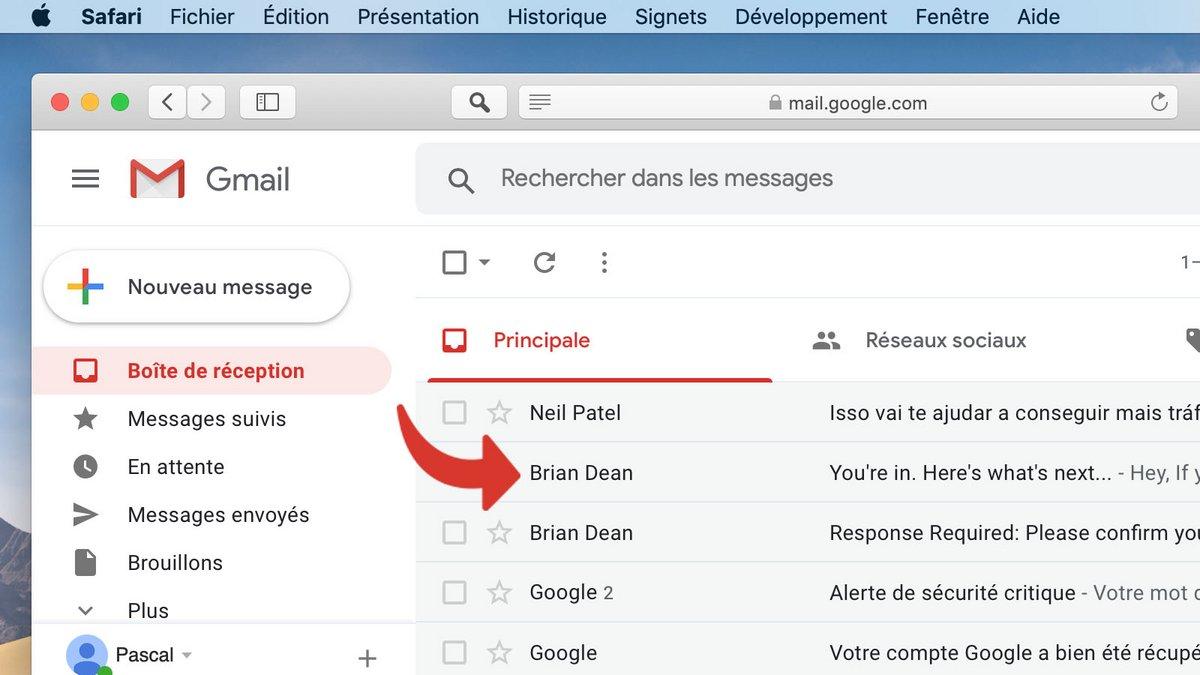 tutoriel Gmail