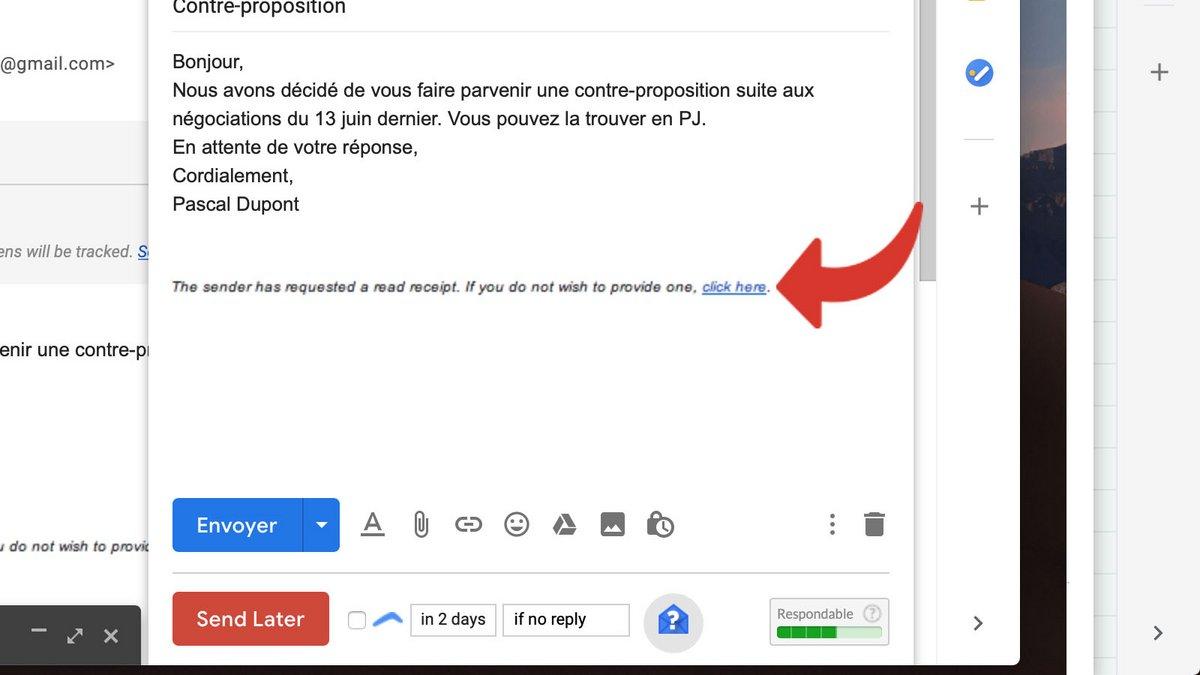 Comment Activer L Accuse De Reception Sur Gmail