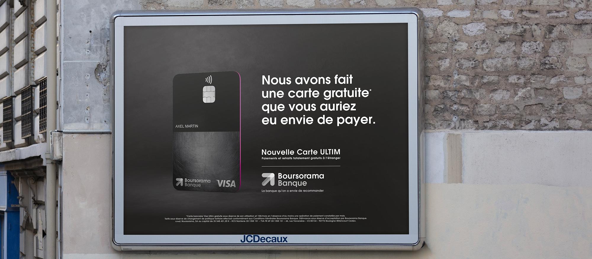 carte visa premier boursorama etranger Boursorama s'attaque à N26 en lançant Ultim, sa carte totalement