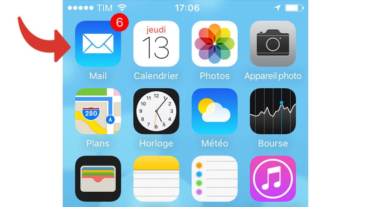 tutoriel Gmail iOS