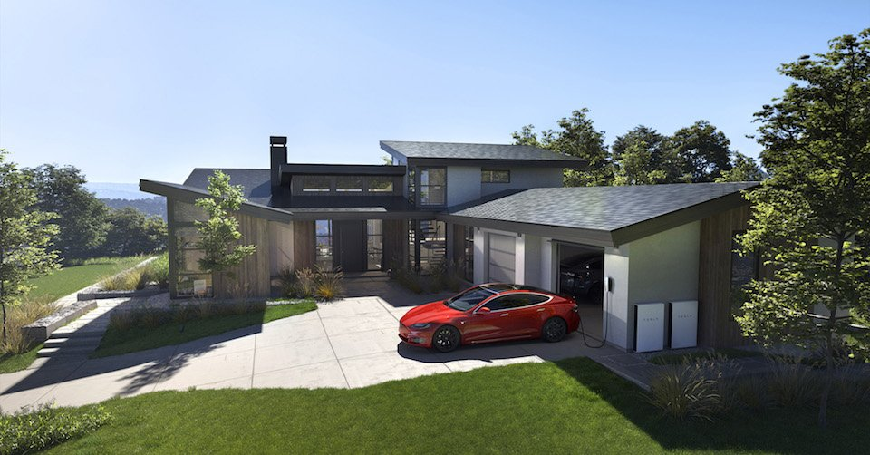 Solar Roof Tesla ©Tesla