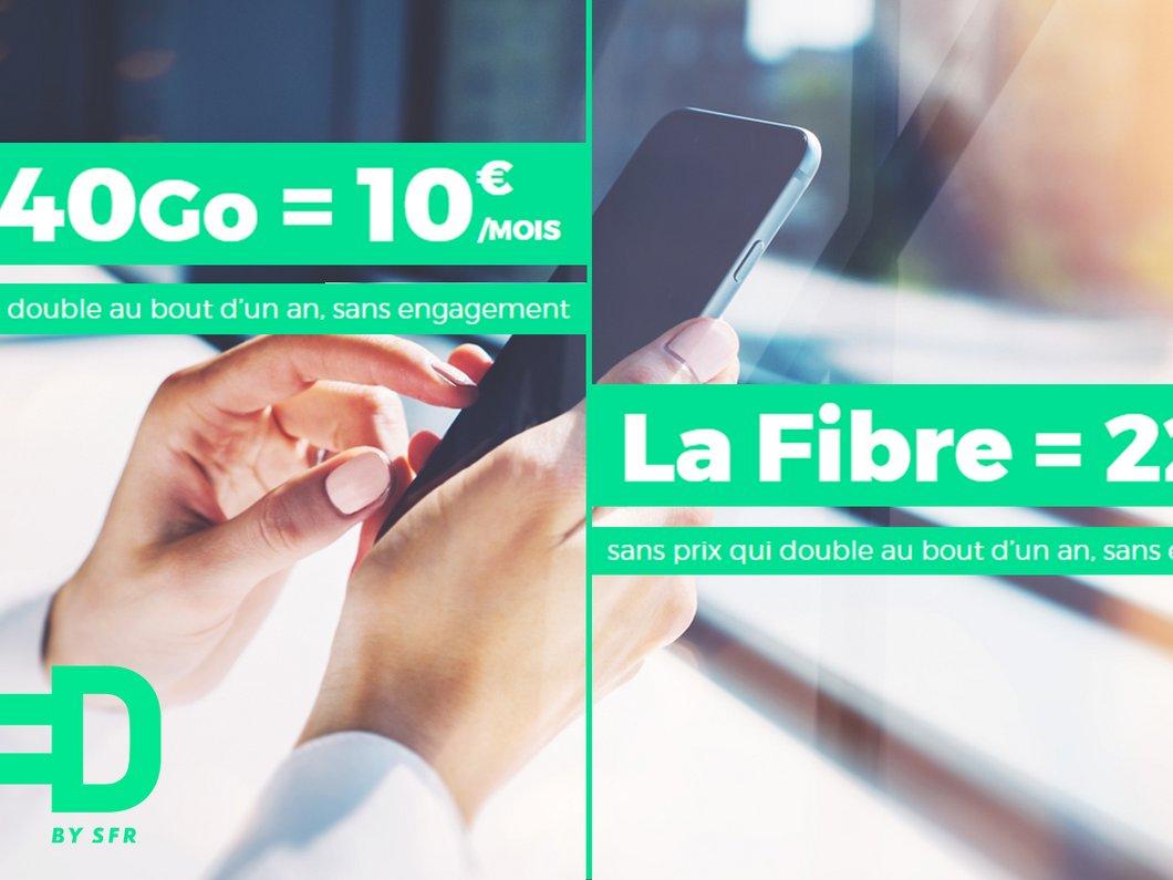 🔥 Forfait mobile et offre fibre : les promos du moment chez RED by SFR