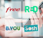 🔥 Forfaits 4G sans engagement : les promos chez Free, RED by SFR, B&You, Sosh
