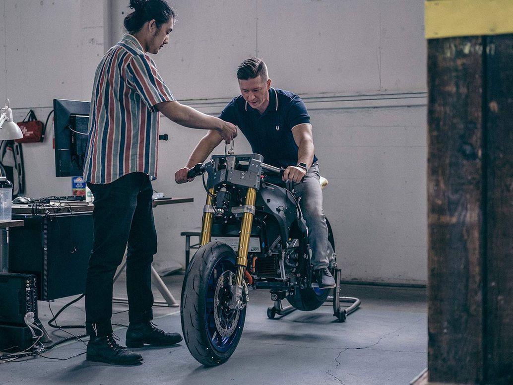 Moto électrique Damon
