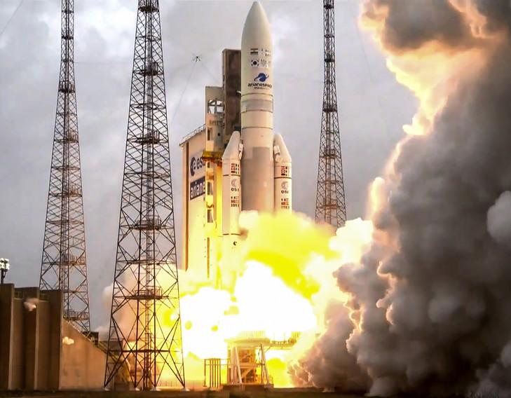 Ariane 5 - lancement du 4 décembre 2018