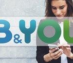 🔥 Forfaits 4G sans engagement : B&You lance 4 nouveaux forfaits illimités