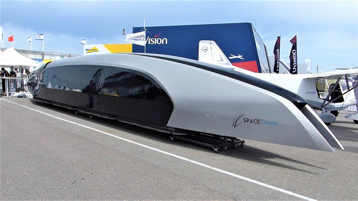 Spacetrain, au Salon du Bourget 2019