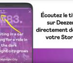 Deezer lance le partage des paroles sur les stories Instagram
