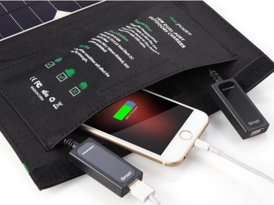 ⚡ Bon plan : Chargeur Panneau Solaire USB à 37,49€ au lieu de 49,99€