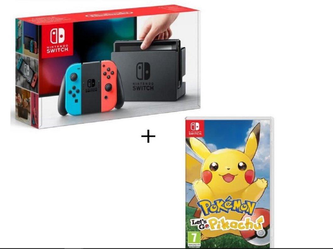 Bon plan : Nintendo Switch + Pokémon Let's Go Pikachu/Evoli dès 221€ pour les adhérents CDAV avec carte Cdiscount