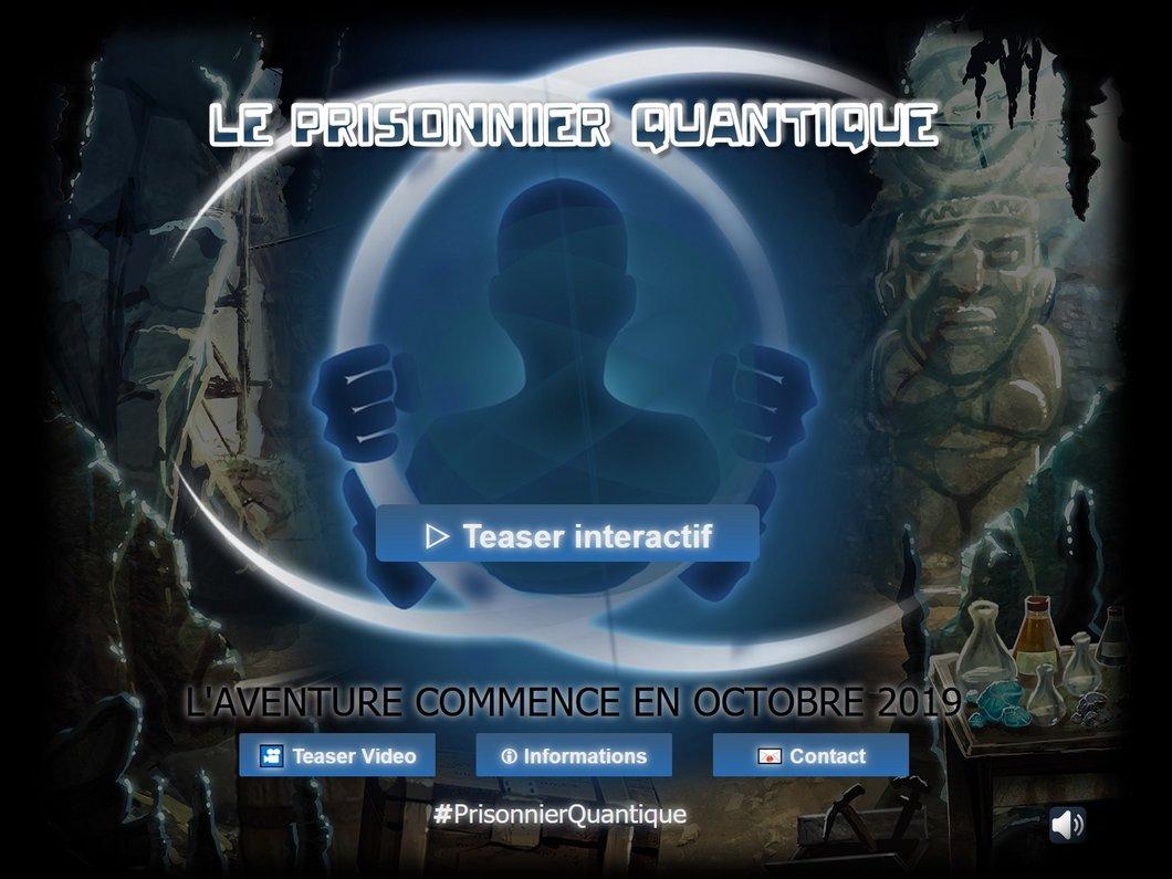 Le prisonnier quantique : un jeu vidéo développé par le CEA pour nous sensibiliser à la science