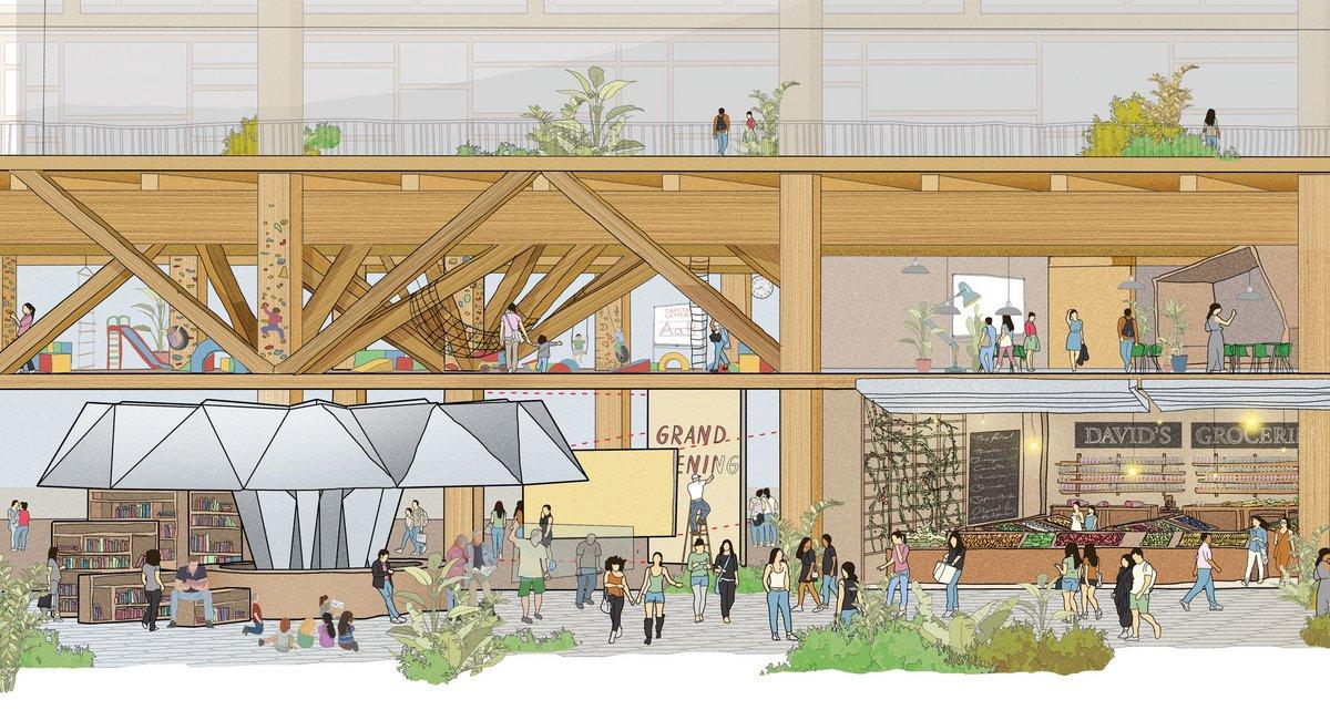 Quayside, Sidewalk Labs, architecture bois