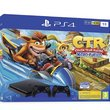 PS4 1To Noire + Crash Team Racing + 2ème manette DualShock 4