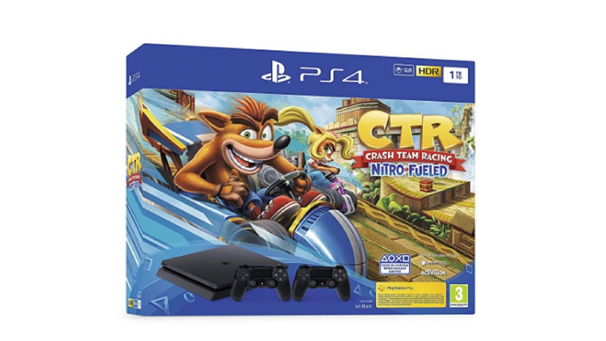 PS4 Crash Team Racing