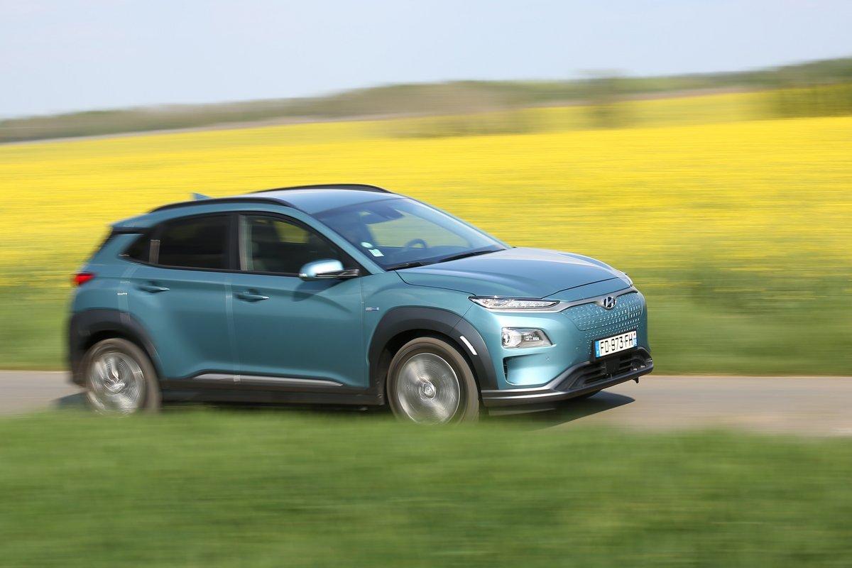 Hyundai Kona Electric 64 kWh © Camille Pinet pour Clubic