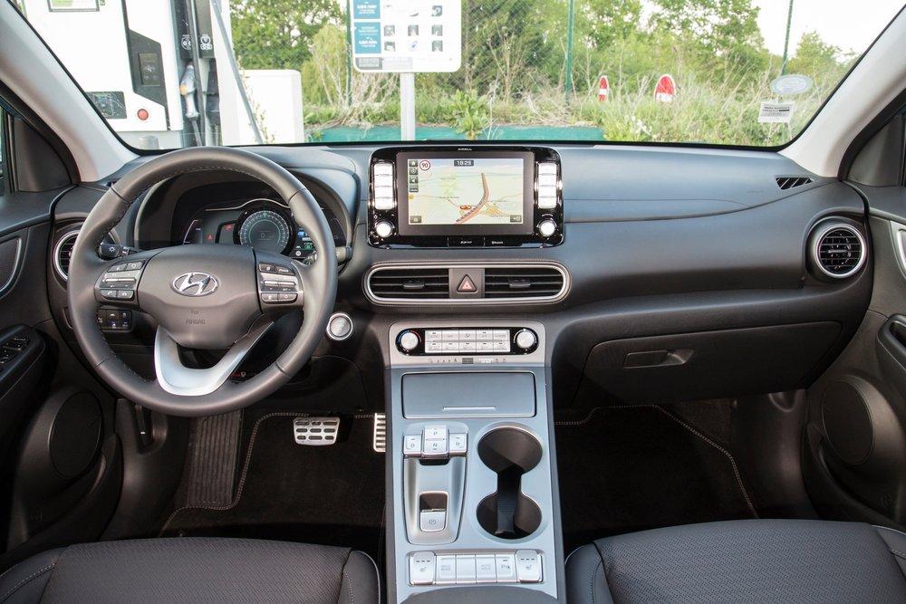 Hyundai Kona Fiche Technique >> Essai Du Hyundai Kona Electric 64 Kwh Un Suv Urbain