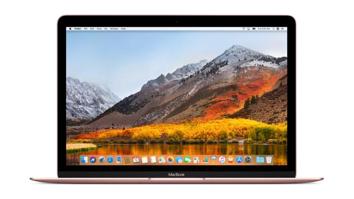 MacBook Rose Gold
