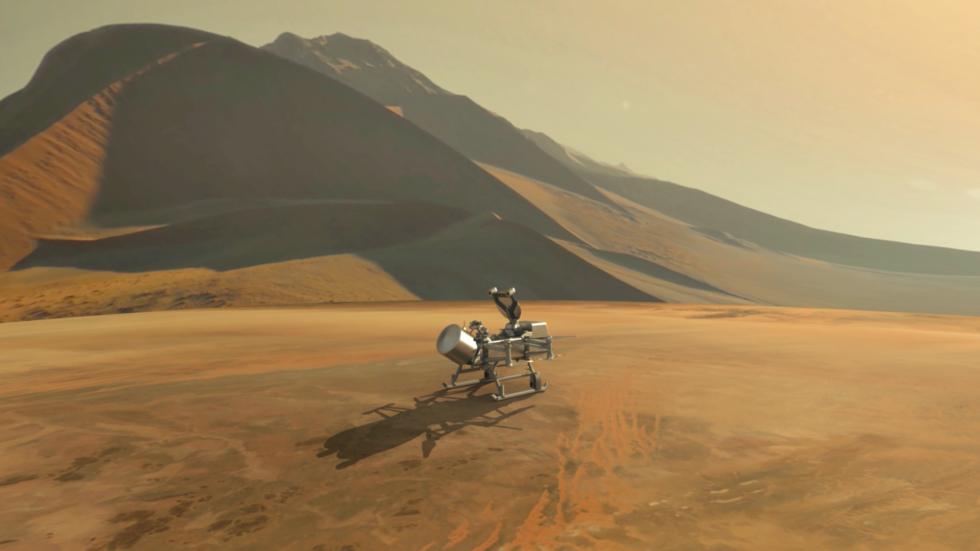 dragonfly sur Titan