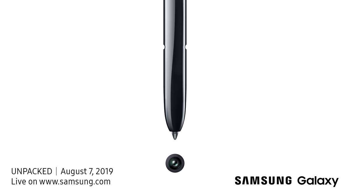 Samsung Unpacked Galaxy Note 10
