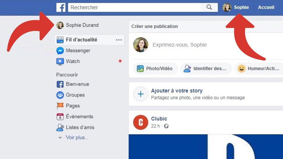 De profil facebook photo How to