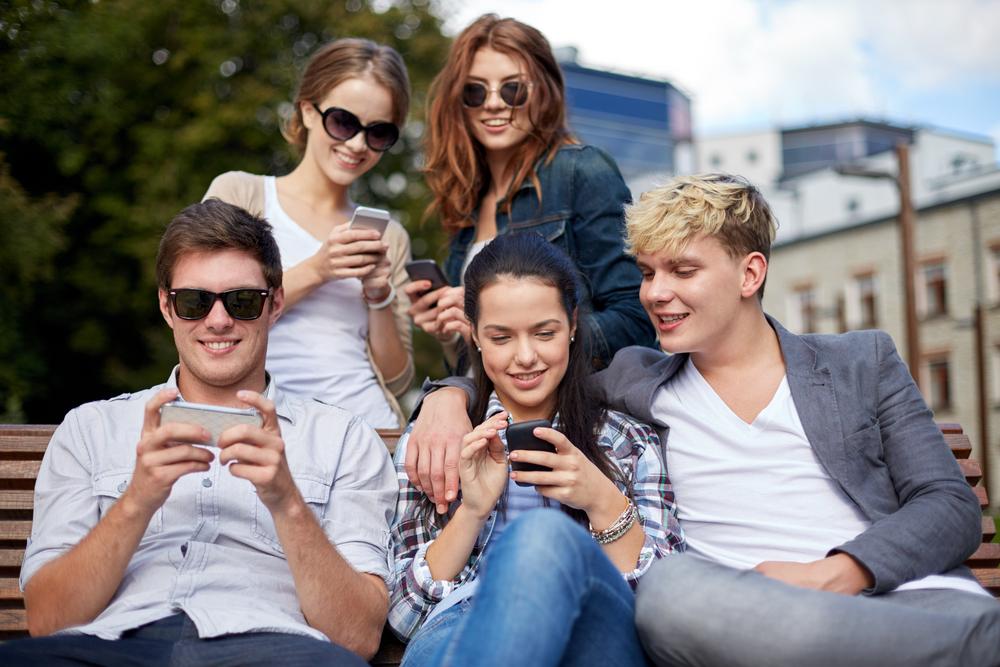 utilisation smartphones