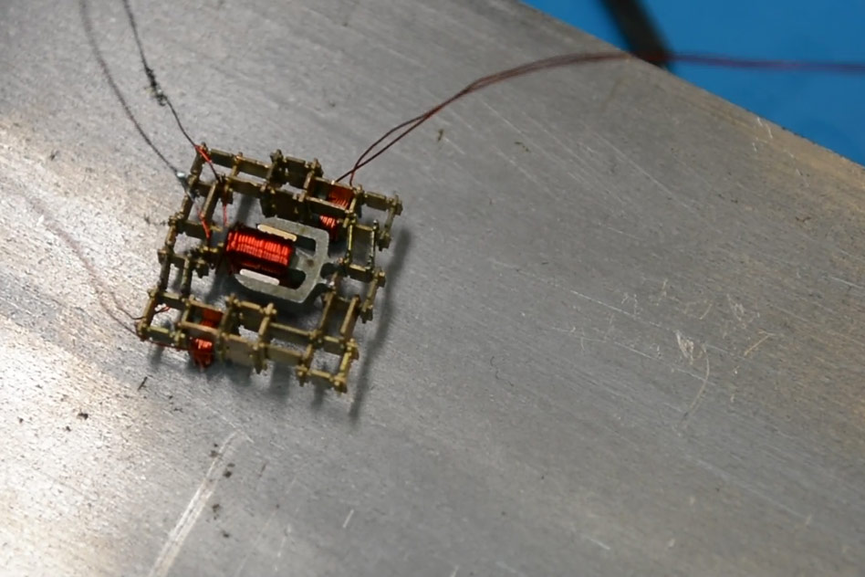 MIT robot miniature