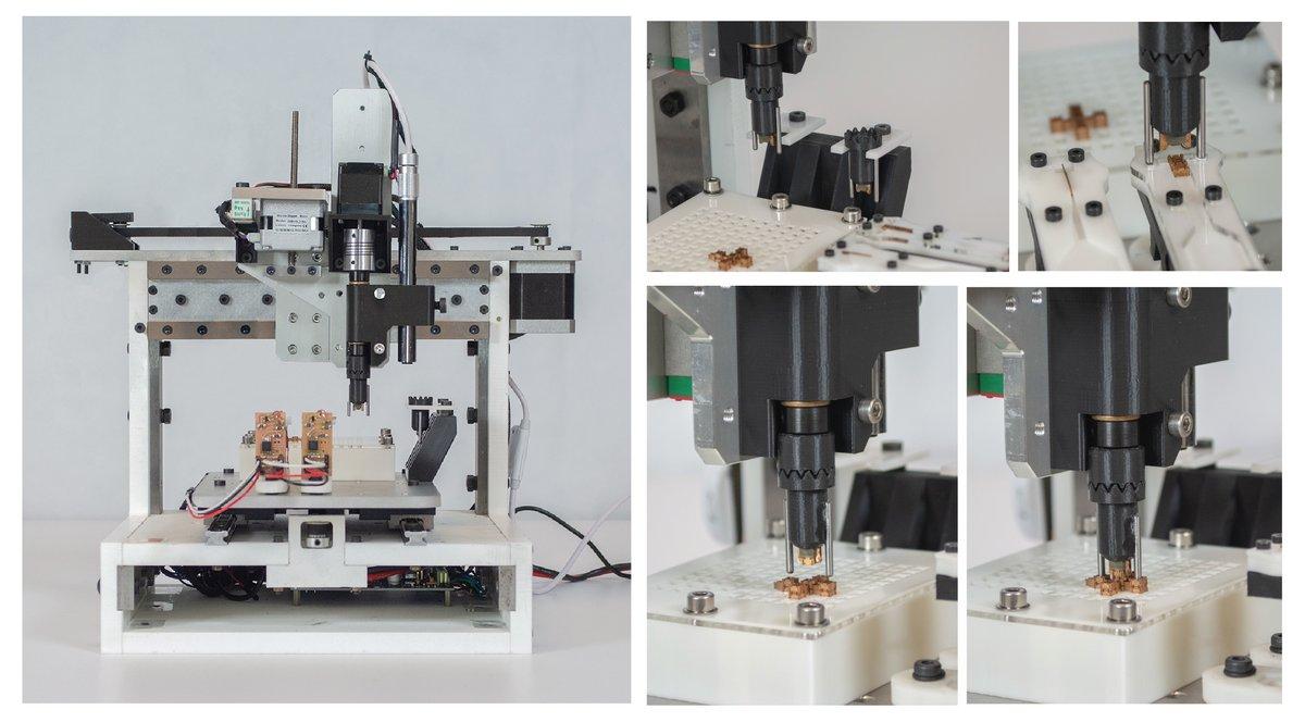 MIT impression robot miniature 3D