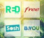 🔥 Soldes : les forfaits mobile 4G en promo chez Free, RED by SFR, B&You et Sosh