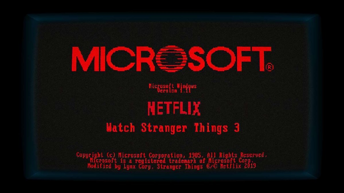 Windows 11.1 Stranger Things
