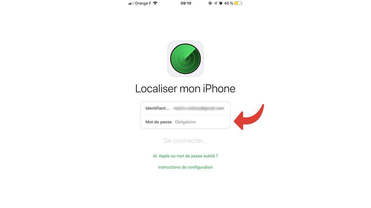 Tuto iPhone localiser