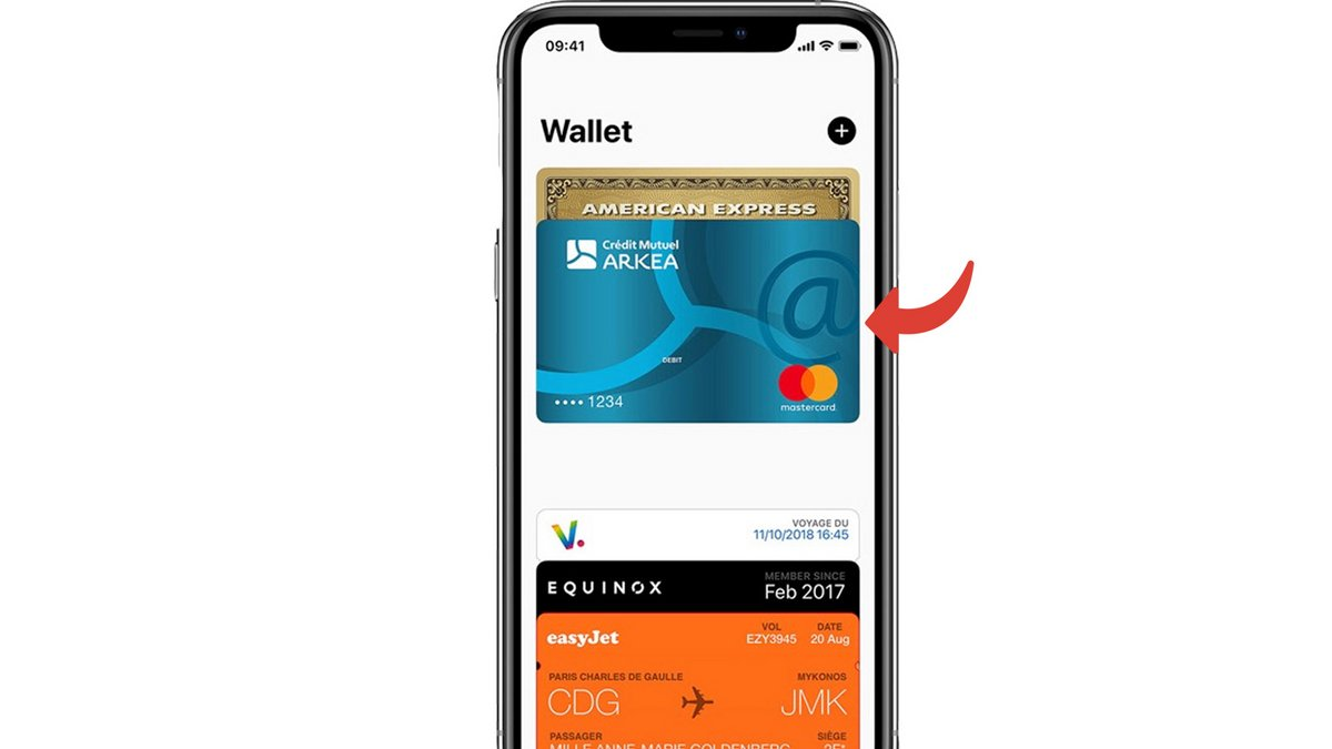 Tuto Apple Pay Config iPhone