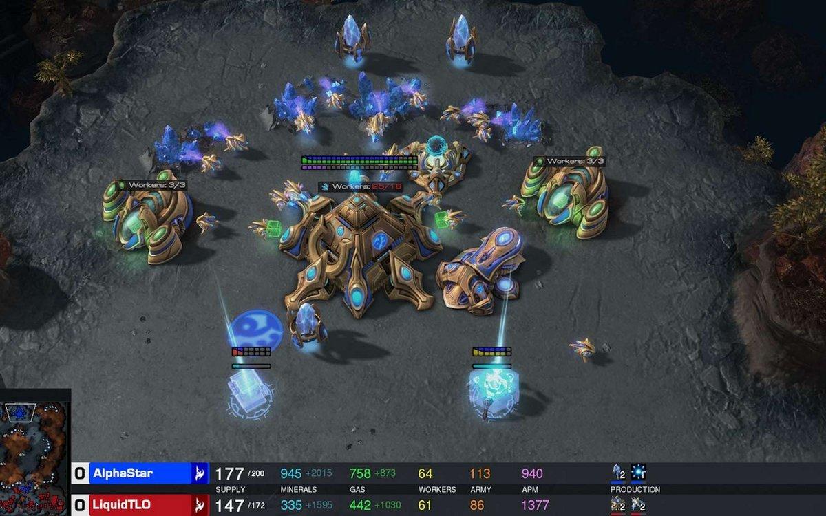 AlphaStar StarCraft