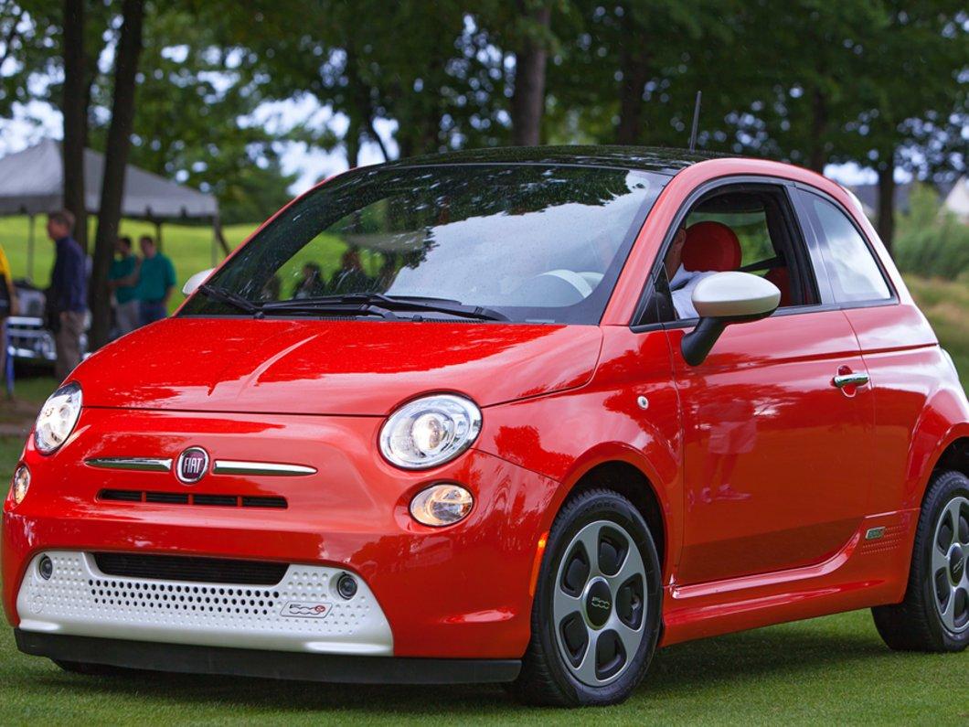 Fiat Chrysler Automobiles veut vendre 80 000 Fiat 500 électriques par an