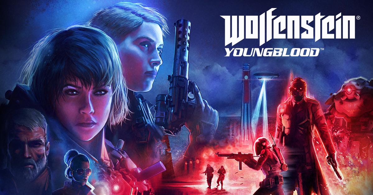 NVIDIA Wolfenstein Yougblood