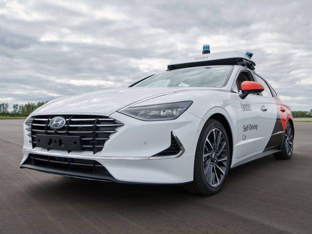 Sonata : la voiture autonome de Hyundai et Yandex se dévoile avant son lancement à Moscou