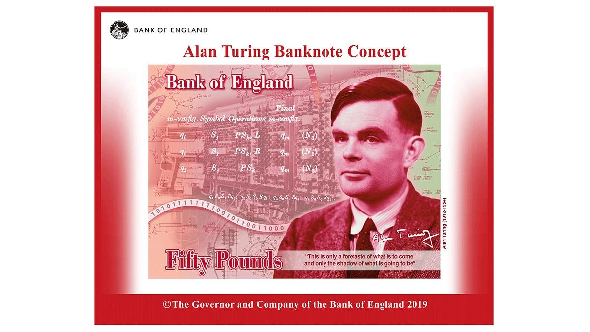 billet Alan Turing