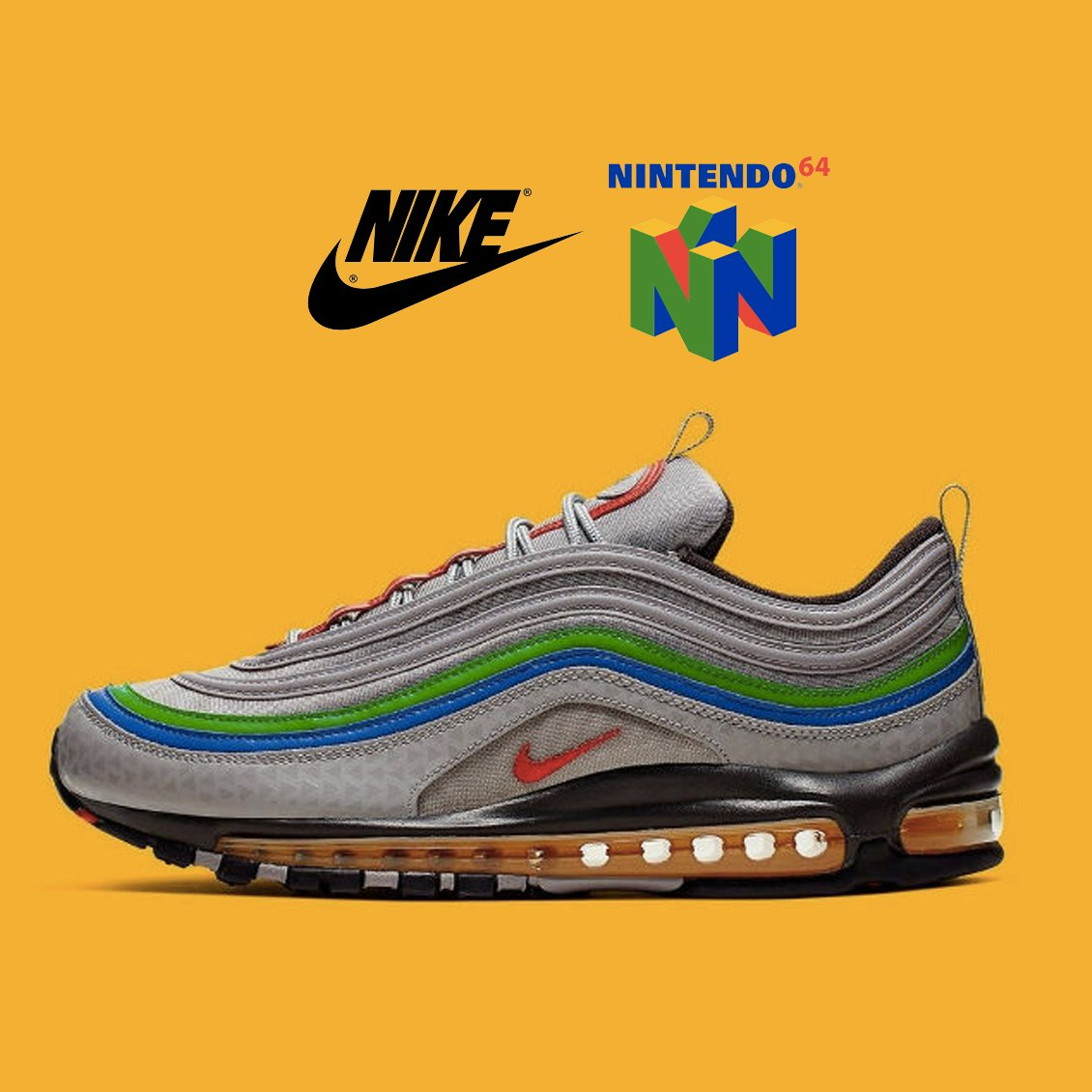 Nike : des Air Max 97 en hommage à la Nintendo 64 !