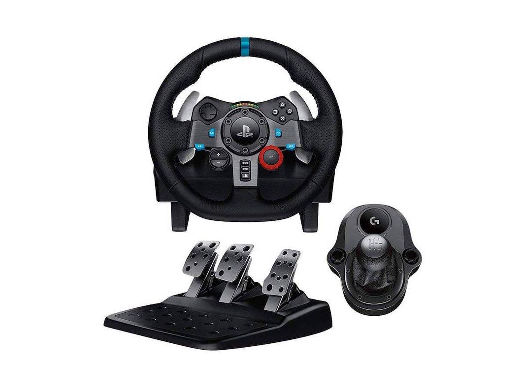 🔥 Amazon Prime Day : Logitech G29 Volant de course + pédalier pour PS3 et PS4 + levier de vitesse Driving Force Shifter à 179€ au lieu de 249€