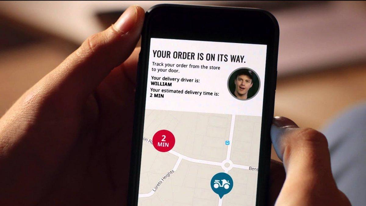 Domino's GPS
