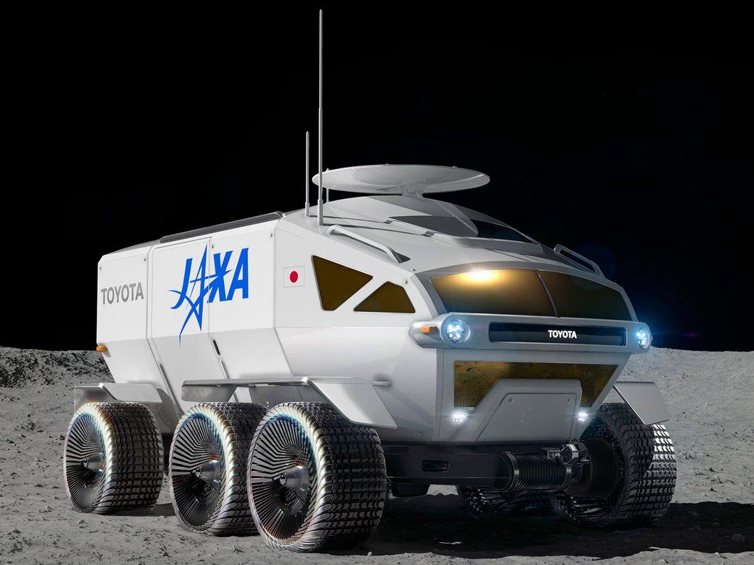 Toyota va construire le 1er véhicule motorisé pressurisé destiné à rouler sur la Lune