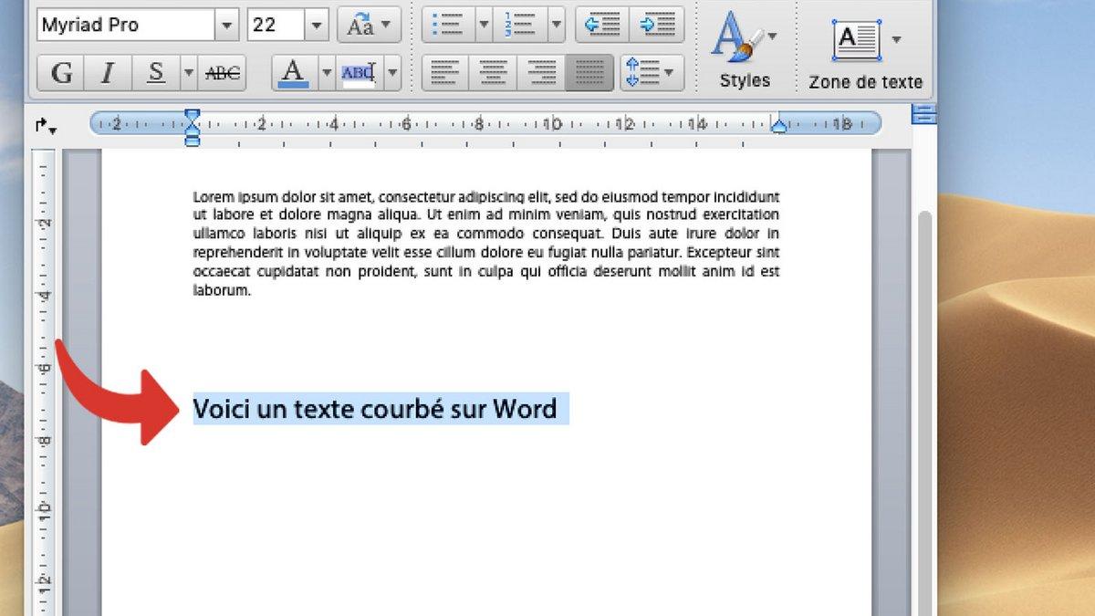 tutoriel word